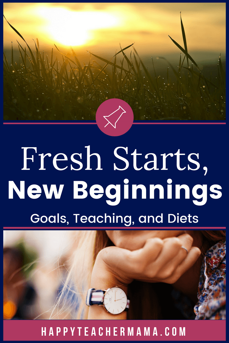 Everyone needs the opportunity to make a fresh start.  But, why do we consistently fail when creating New Year's resolutions or any other resolution?  Find out why, learn how to set goals you can surpass, and how to achieve those goals.  #goals #goalsetting #newyearsresolutions #teaching