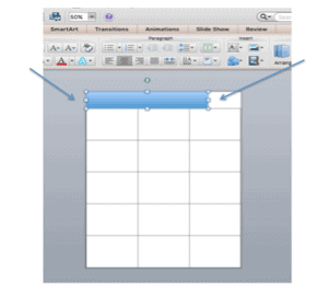 Customize shapes in PPT for Lesson Plans
