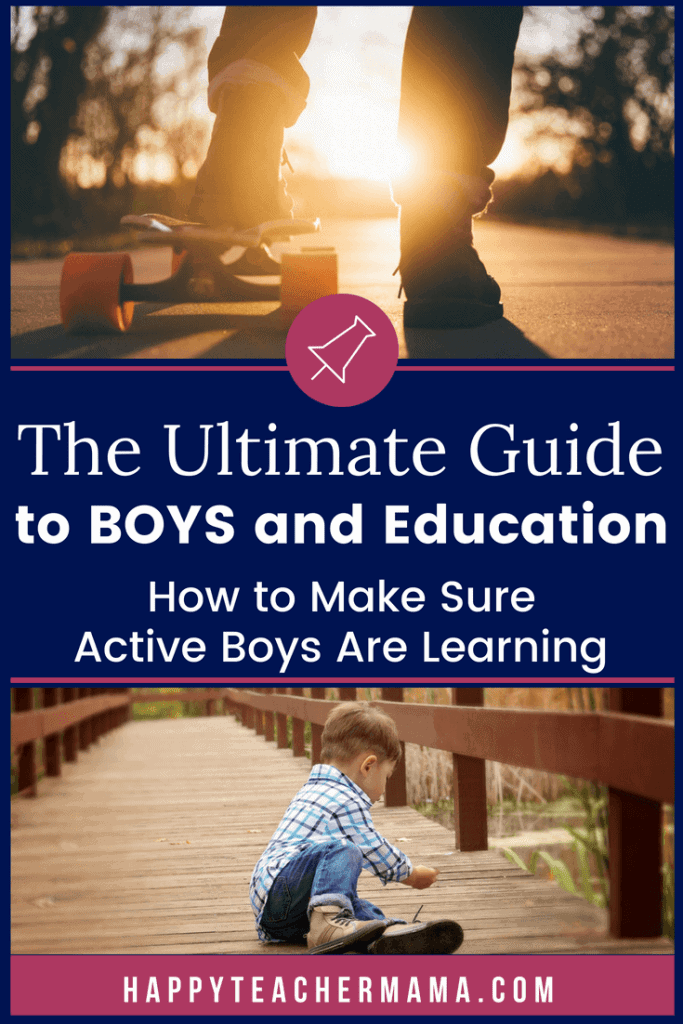 Boys and girls are totally different. This applies to pretty much every facet of life. But, it becomes glaringly obvious when we talk about the differences between boys and girls and their education. Find tips and ideas for meeting the needs of these most interesting learners. #boys #learning #teaching #homeschooling