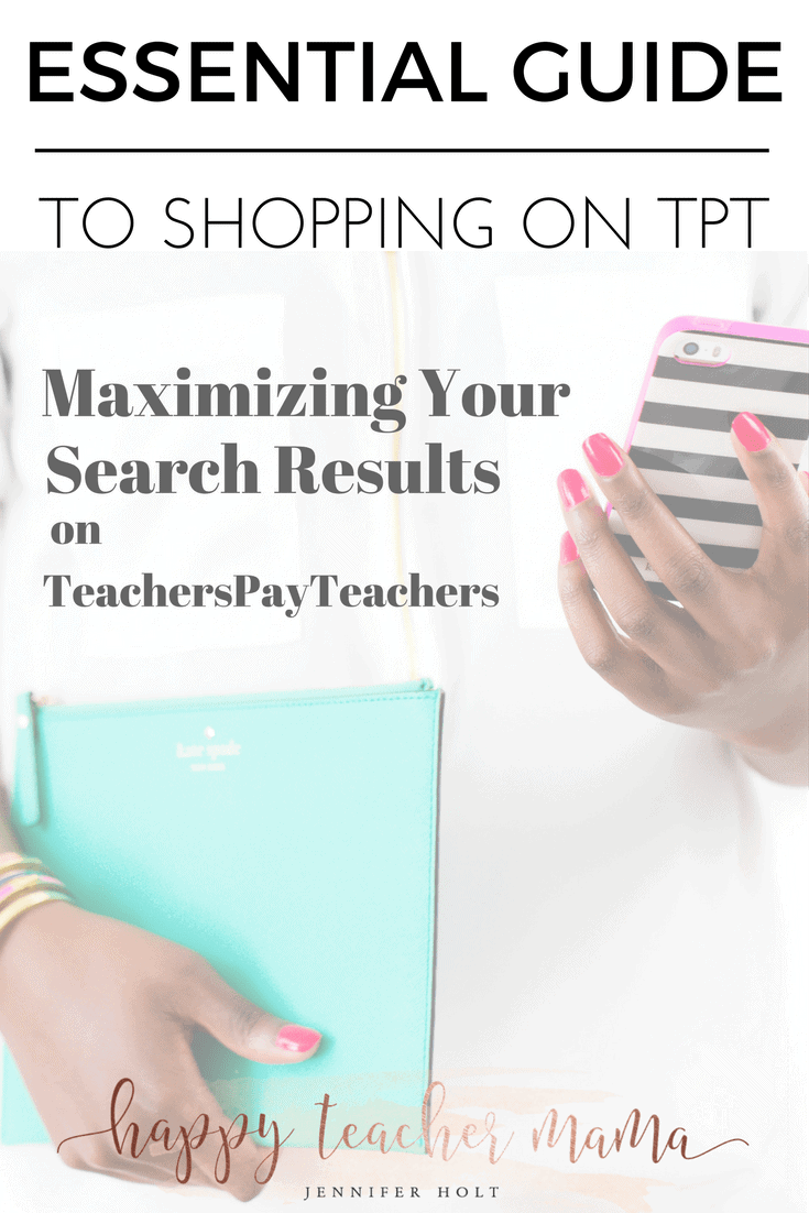 TeachersPayTeachers | Maximizing your search | TpT