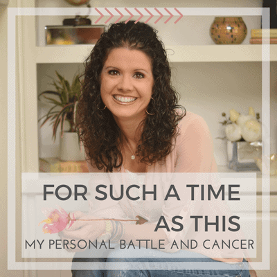 For Such A Time As This: My Personal Battle
