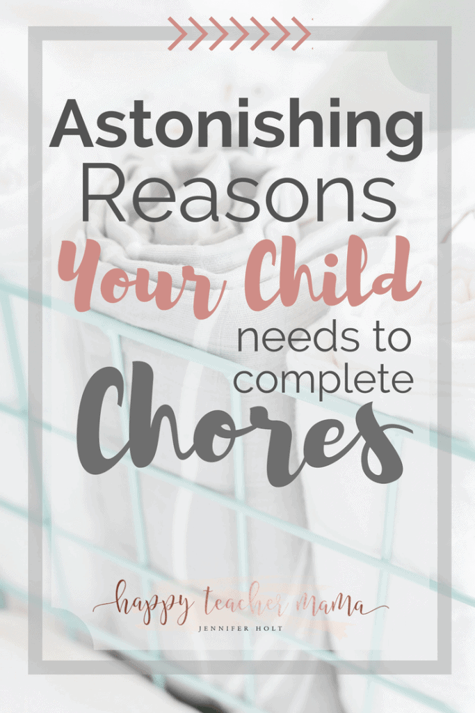 Why Your Child Needs to Do Chores