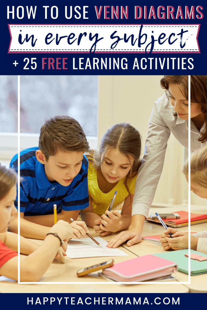 Did you know that you already have the best tool you'll ever need to develop critical thinking in your kids? Whether you are comparing and contrasting or grouping like things, venn diagrams for kids are essential. Find 25 Venn Diagram activities to start boosting learning across all subjects today! #venndiagram #criticalthinking