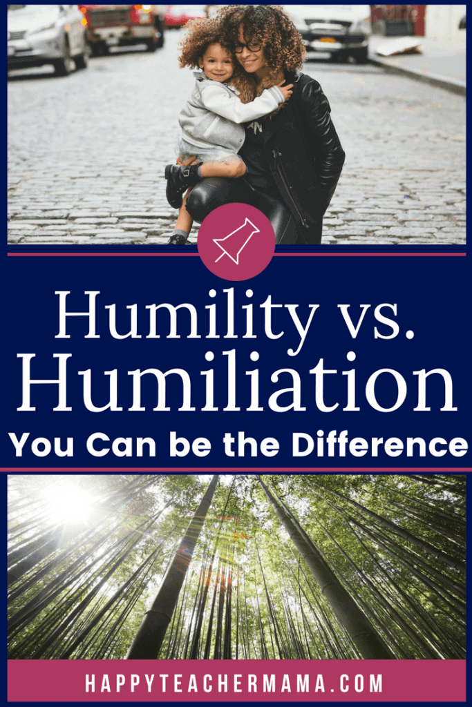 "Learning Humility. Have you ever been the subject of a humiliating encounter? At some point, were you the object of a ""lesson"" that a teacher wanted to teach the class? If so, you aren't alone. I daresay that none of us would ever want to humiliate another person...especially a child. However, it is something we have to consciously choose. Learn why learning humility is vital. #humility #teaching #kids"