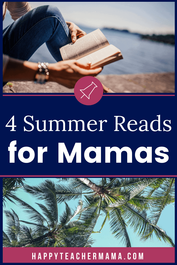 As a mama, reading for pleasure isn't usually something we have time for.  However, occasionally during the summer when the kids are playing, you get a few minutes to sneak in a chapter.  If you are in search of books that will add value to your life, check out these four.  I promise you will not be disappointed.  #summerreading #moms #women