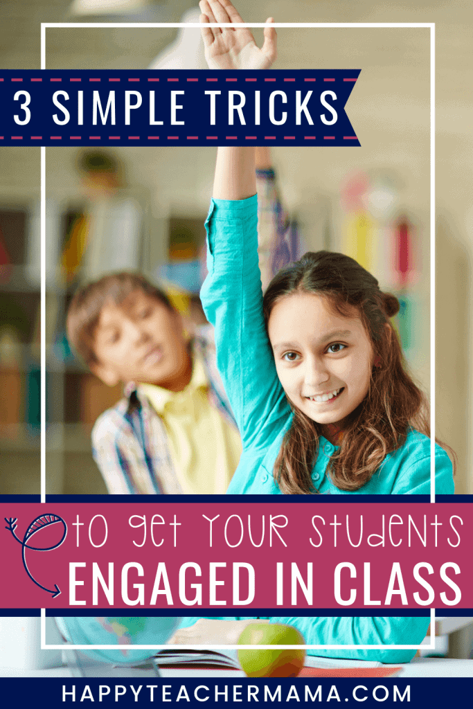 Helping kids focus in the classroom is not easy! However, it is possible for teachers and parents to help students pay attention in school, improve their focus, and engage in learning. Find 3 simple ideas and top tips to try in class and at home! My favorite has to be number 3! #teaching #focus