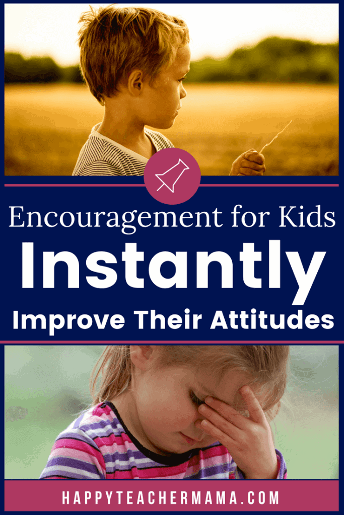 We all want to express encouragement for kids. Modeling appropriate attitudes in school and sharing nonverbal cues that create a positive classroom environment are essential for our students. Discover tips and fun ideas you can use to improve the learning environment. #encouragementforkids #positivity #teaching #kids #homeschool