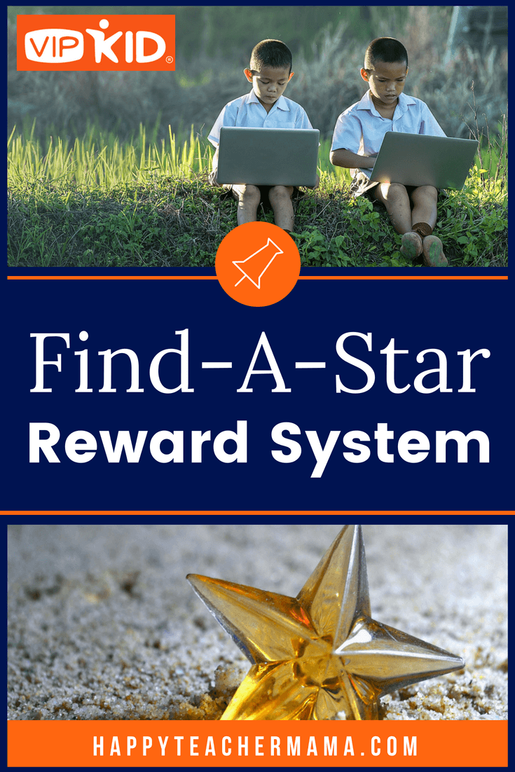 The Find-A-Star Reward System is my favorite reward to implement in my VIPKID classroom.  I love that I don't have to have a ton of props or space for this.  Discover how I use this effectively to keep my students engaged throughout the lesson.  #VIPKID #rewardsystem #virtualteaching #teaching