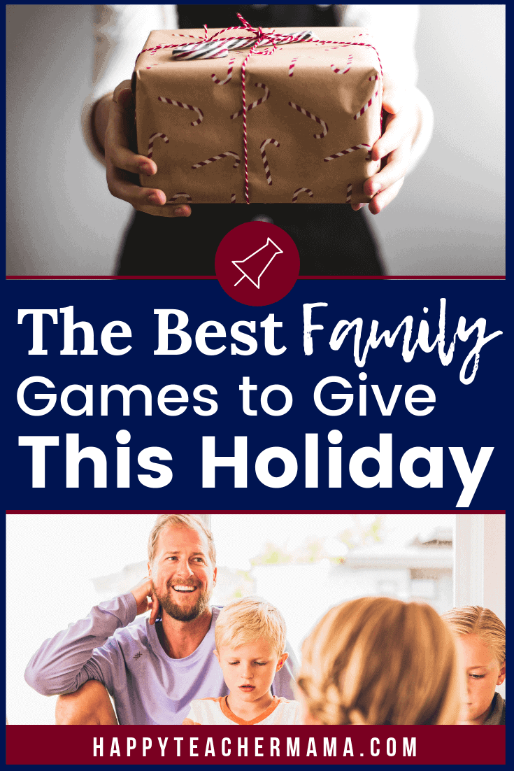 If you are considering giving one of the best family games as a Christmas gift, you may have a run for your money. There are just SO many fun options. The trick is to find those that appeal to kids and adults alike. That way everyone is ready for game night! Discover 10 board games you MUST invest in this holiday. #boardgames #family #holidays #giftguide