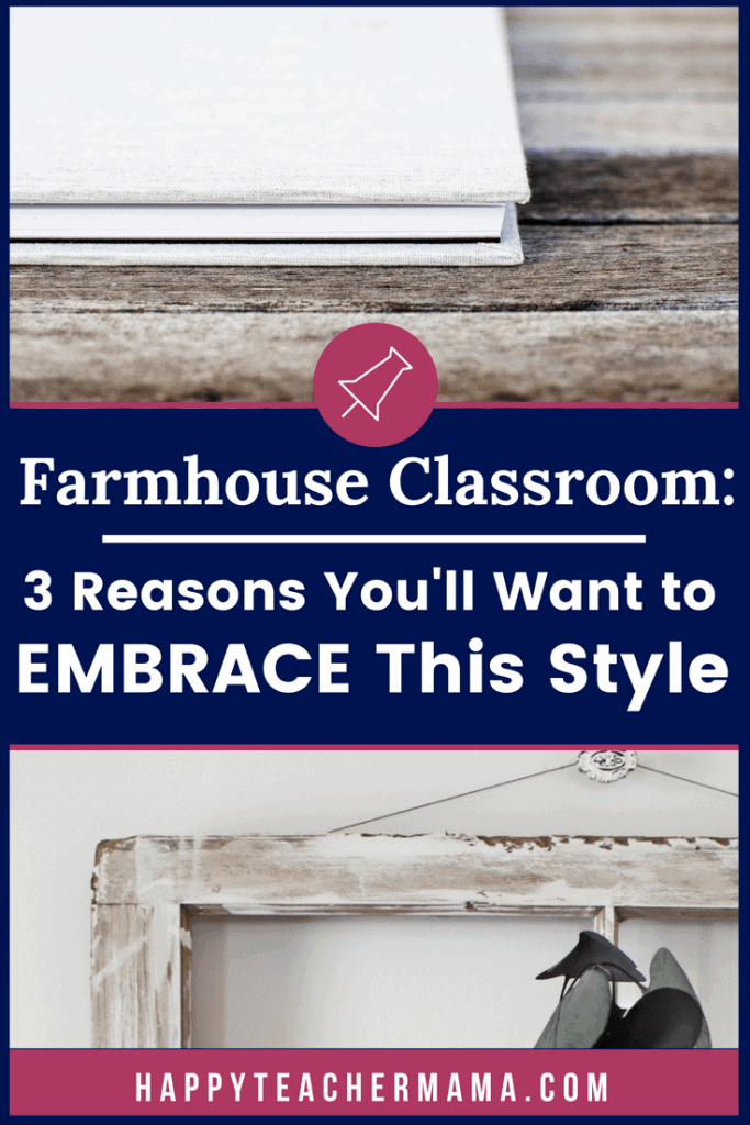 Farmhouse classroom style is the hottest trend right now. From bulletin board designs to rustic organizing pieces, this classroom theme is here to stay. Discover 3 reasons you will want to embrace this style in your classroom today! Also, find amazing resources to include in your classroom. #farmhouseclassroom #farmhouseclassroomdecor #teaching #rusticclassroom