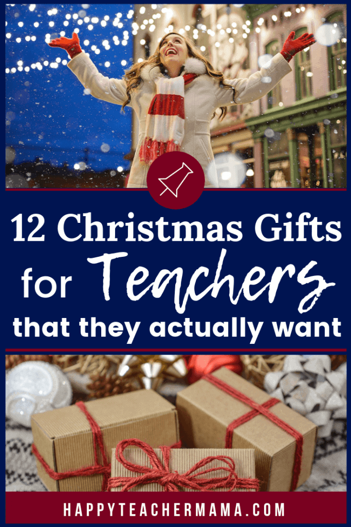 Finding the perfect Christmas presents for teachers shouldn't be hard, but it is sometimes. While teachers appreciate every gift they receive from kids, certain ones are just amazing. There are always DIY options or homemade choices, but these 12 Christmas gift ideas for the special teachers in your child's life are easy and fun! #giftguide #Christmasgifts #teacher #holiday