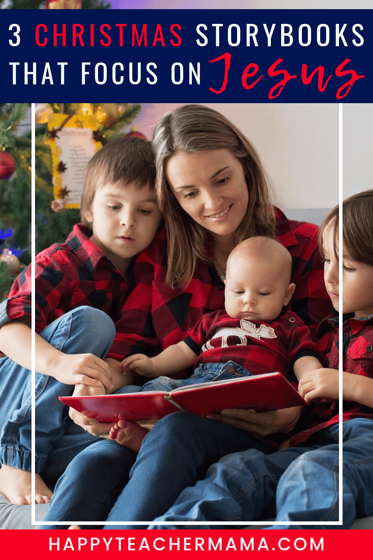 Christmas storybooks that focus on Jesus are not always easy to find.  But, discover the three BEST that are perfect for toddlers all the way up to adults!  These Christian books for kids will become a special holiday tradition even for your children's families. #holidaytraditions #storybooks #Christmas
