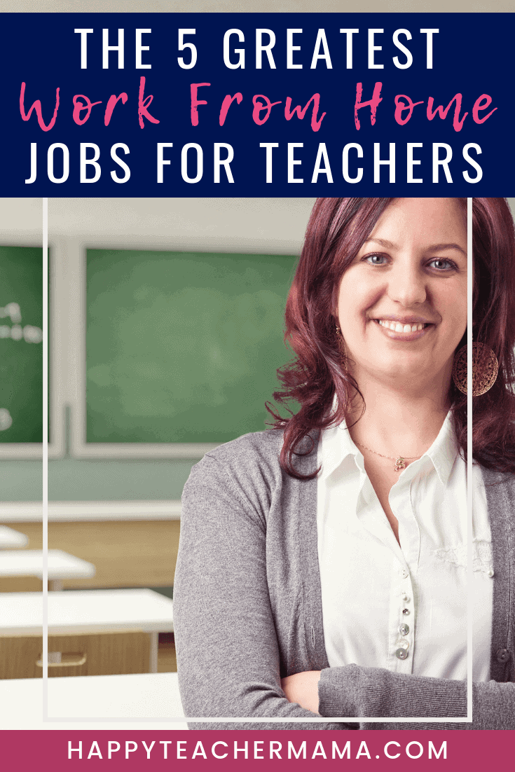 Did you know that there are tons of work from home jobs for teachers? Unfortunately, figuring out how to be making money from home can be tricky especially if you are a mom. Discover 5 of the greatest options that will provide you the flexibility you need to be making money soon! My favorite will always be the second one! #teaching #workfromhome #makingmoney