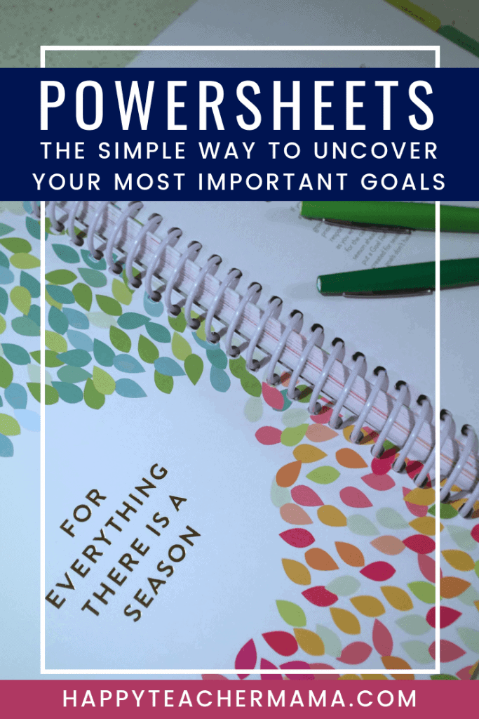 Cultivating what matters in your life is essential, but so many times we don't even know what we want to cultivate. Created by Lara Casey, the Powersheets help you uncover the most important things and create goals from them! Discover how these have helped me achieve more this year than ever before. #powersheets #goalsetting