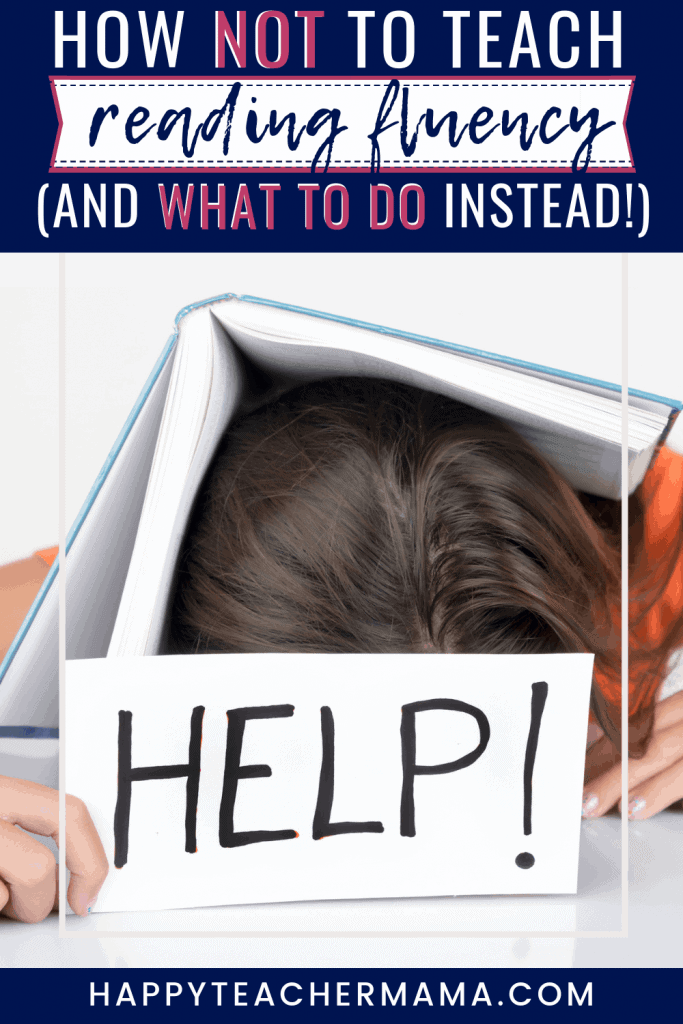There are certain things you should do to improve reading fluency and there are things you definitely don't want to do. Find ideas and activities that will encourage your struggling readers and help them become more fluent readers. The second one is perfect for school or home. #readingfluency #reading