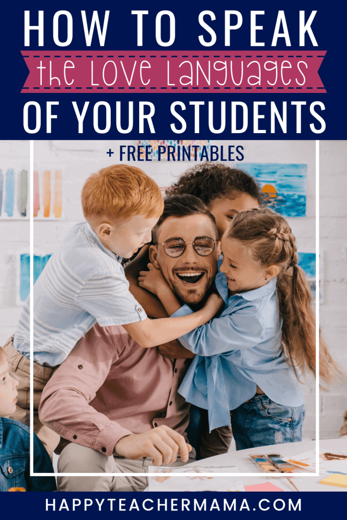 We all feel and express love in different ways. Whether you're a classroom teacher wanting to learn how to connect with your students through their love languages or a parent wanting ideas and activities to incorporate into your daily routine, you will find just what you need in this love languages for kids action plan and free printable. #lovelanguages #parentingtips #kids