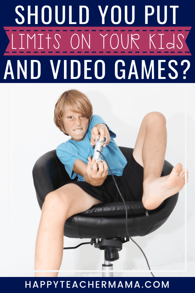 How and why we need to set reasonable limits on video games with our kids