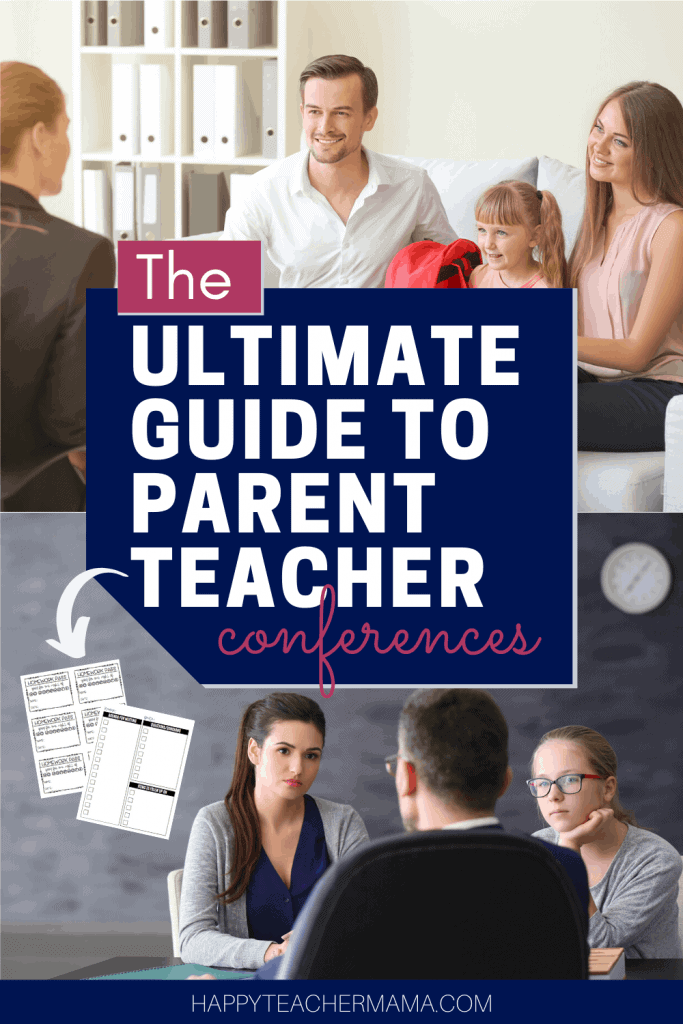 How to prepare for parent teacher conferences, the dos and don'ts of parent teacher conferences, and how to follow up after parent teacher conferences
