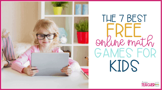 7 of the Best FREE Online Math Games for Kids