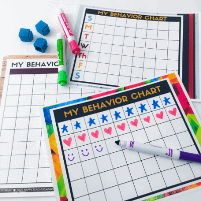 How to Use Behavior Charts at Home