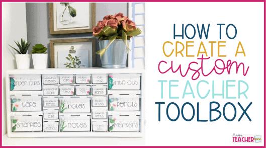 How to Create a Custom Teacher Toolbox