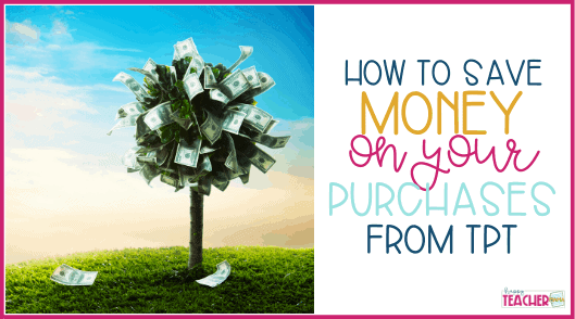 How to save money on TpT [& even shop for free]