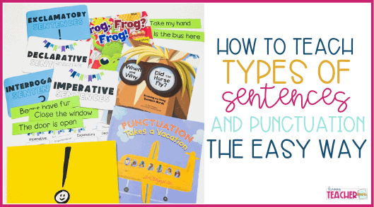 Identifying Types of Sentences the Easy Way