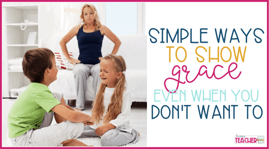 How to Extend Grace to Yourself and Your Kids