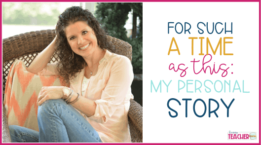 For Such A Time As This: My Personal story