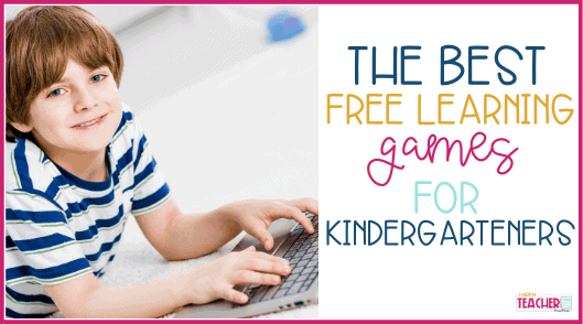 15 of the Best Free Learning Games for Kindergarteners