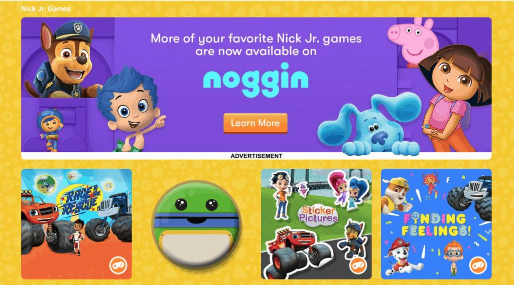 nickjr.com games page